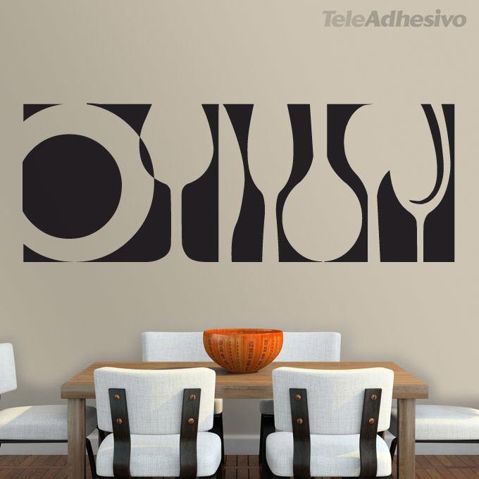 Wandtattoos: Tableware