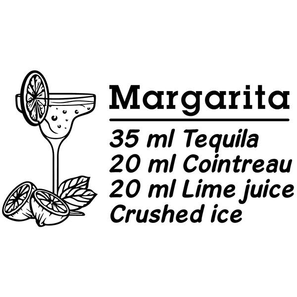 Wandtattoos: Cocktail Margarita - englisch