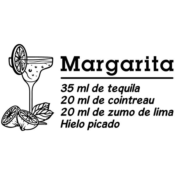 Wandtattoos: Cocktail Margarita - spanisch