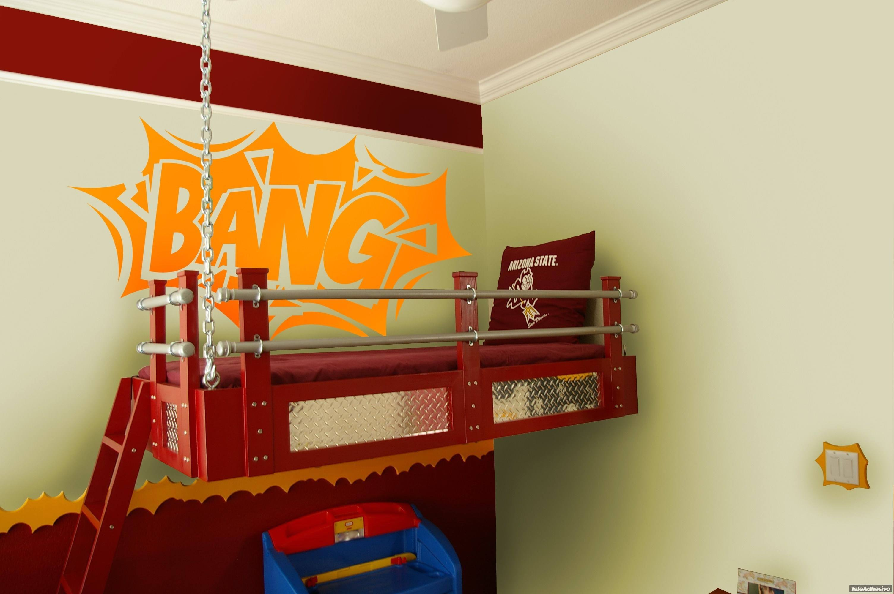 Kinderzimmer Wandtattoo: Comic Bang 02