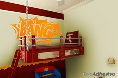Kinderzimmer Wandtattoo: Comic Bang 02 2
