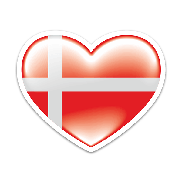 Aufkleber: Denmark