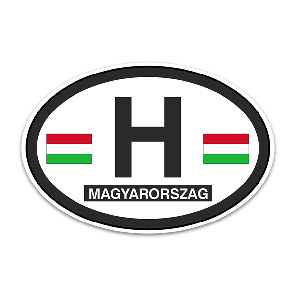Aufkleber: Magyarorszag