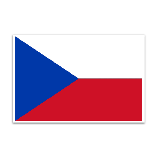 Aufkleber: Ceská Republica