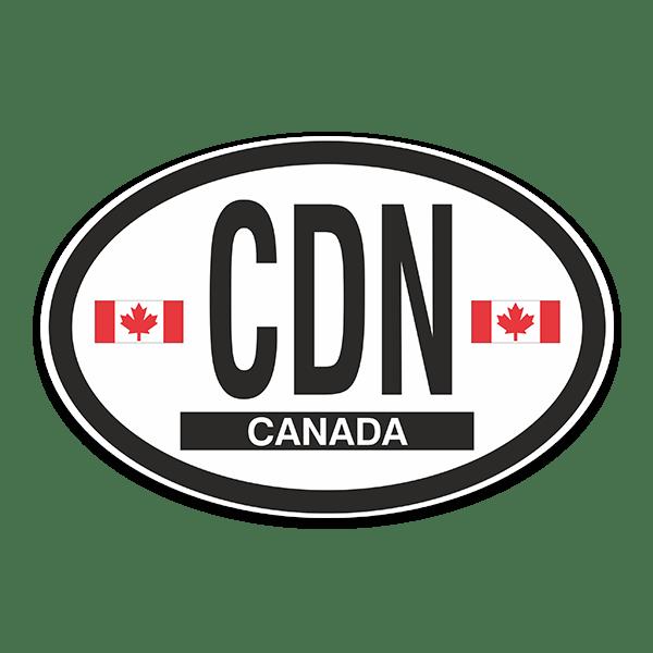 Aufkleber: Canada