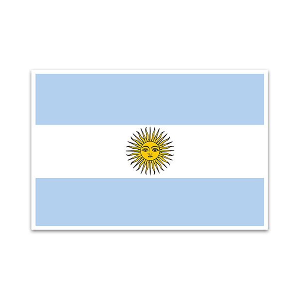 Aufkleber: Argentina