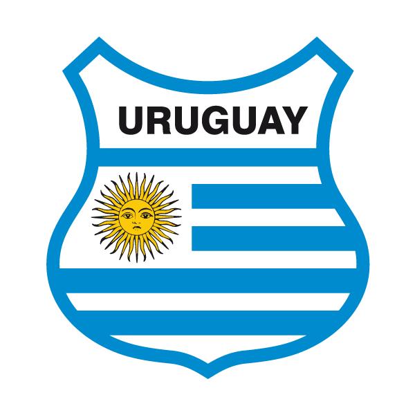 Aufkleber: Uruguay