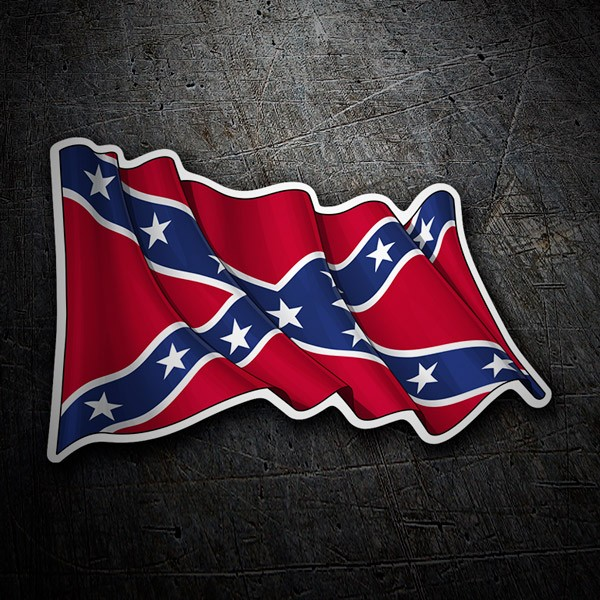 Aufkleber: Rebel Confederate Flag