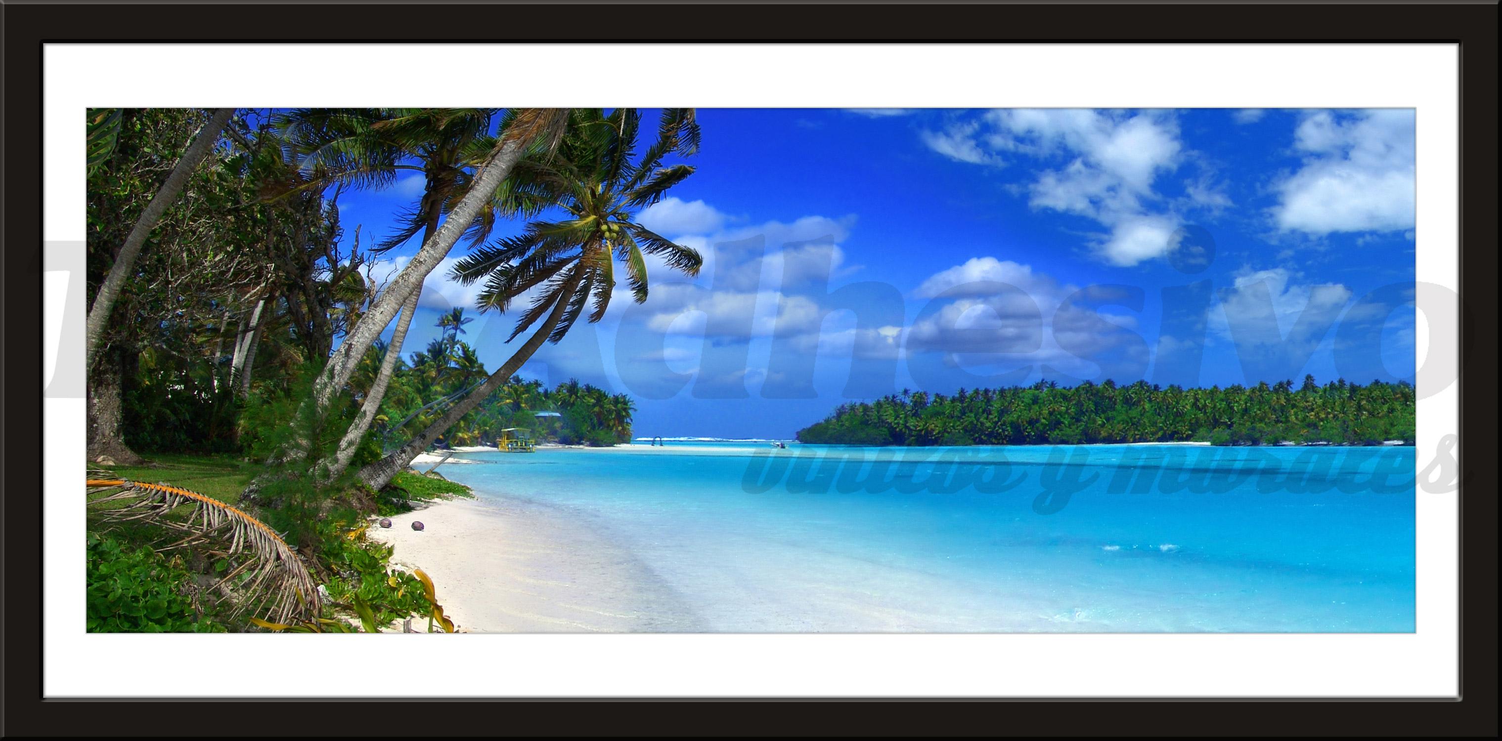 Wandtattoos: Strand der Karibik