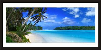Wandtattoos: Strand der Karibik 3