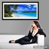 Wandtattoos: Strand der Karibik 4