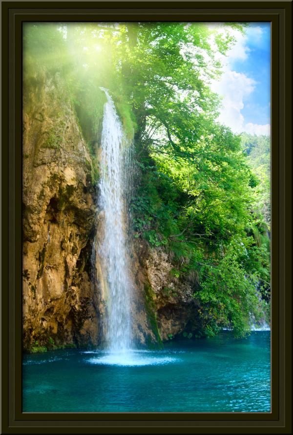 Wandtattoos: Naturparadies