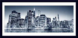 Wandtattoos: Blue Manhattan 3