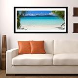 Wandtattoos: Caribbean Beach 0