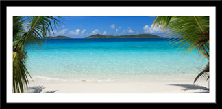Wandtattoos: Caribbean Beach 3