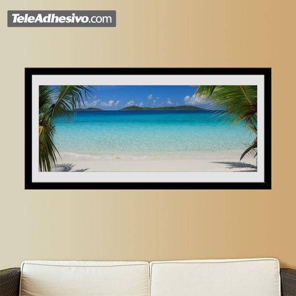 Wandtattoos: Caribbean Beach