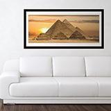 Wandtattoos: Pyramiden von Gizeh 0