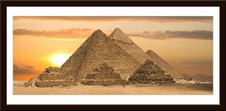 Wandtattoos: Pyramiden von Gizeh 1