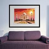 Wandtattoos: Taj Mahal 0