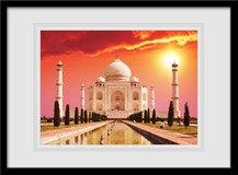 Wandtattoos: Taj Mahal 1