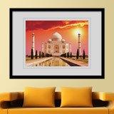 Wandtattoos: Taj Mahal 2
