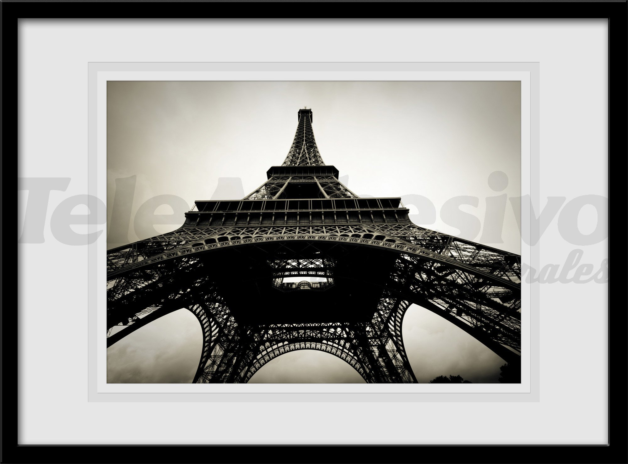 Wandtattoos: Eiffel-Toast