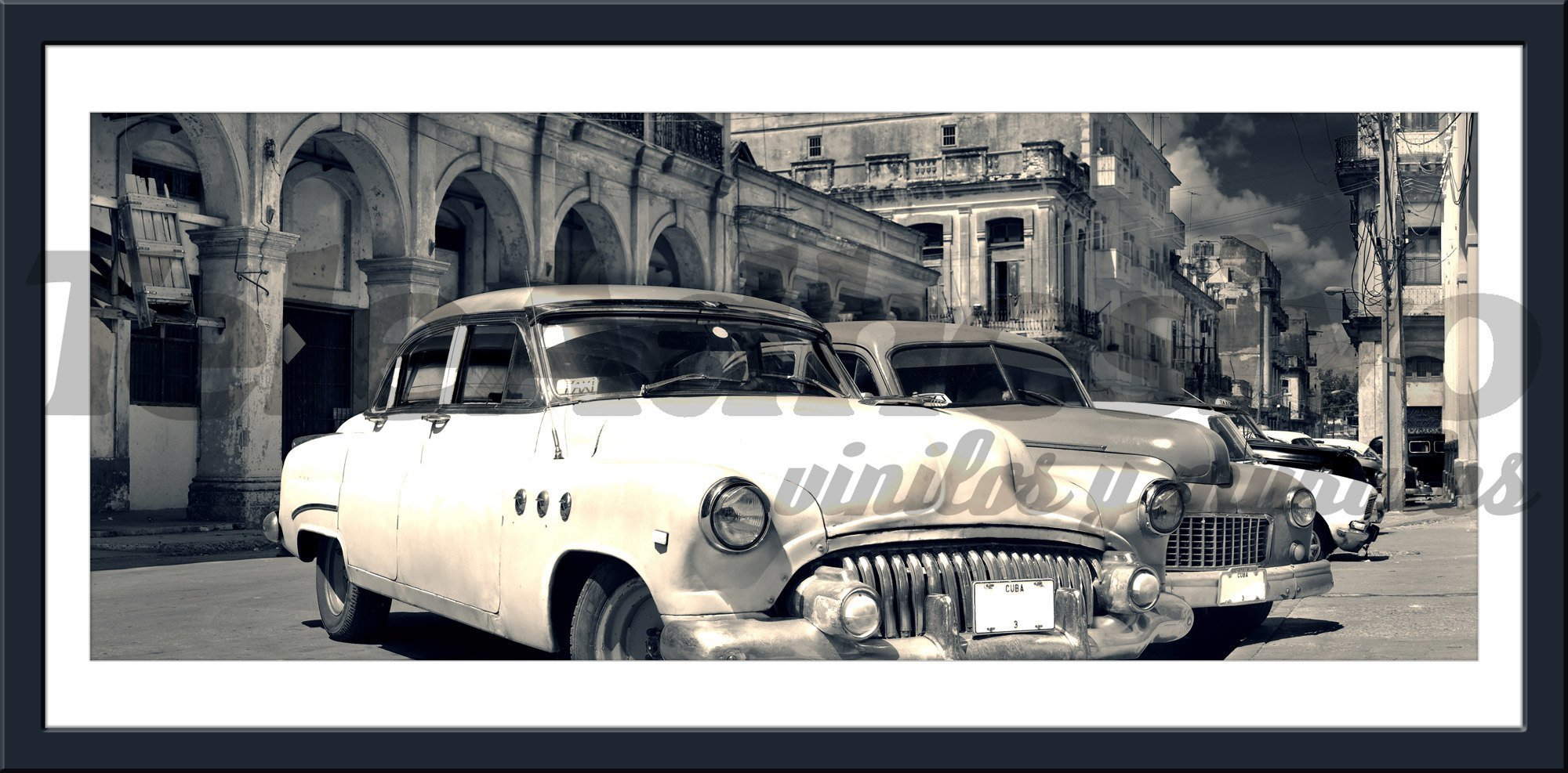 Wandtattoos: Cars in Havana