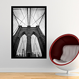 Wandtattoos: Innerhalb der Brooklyn Bridge 0