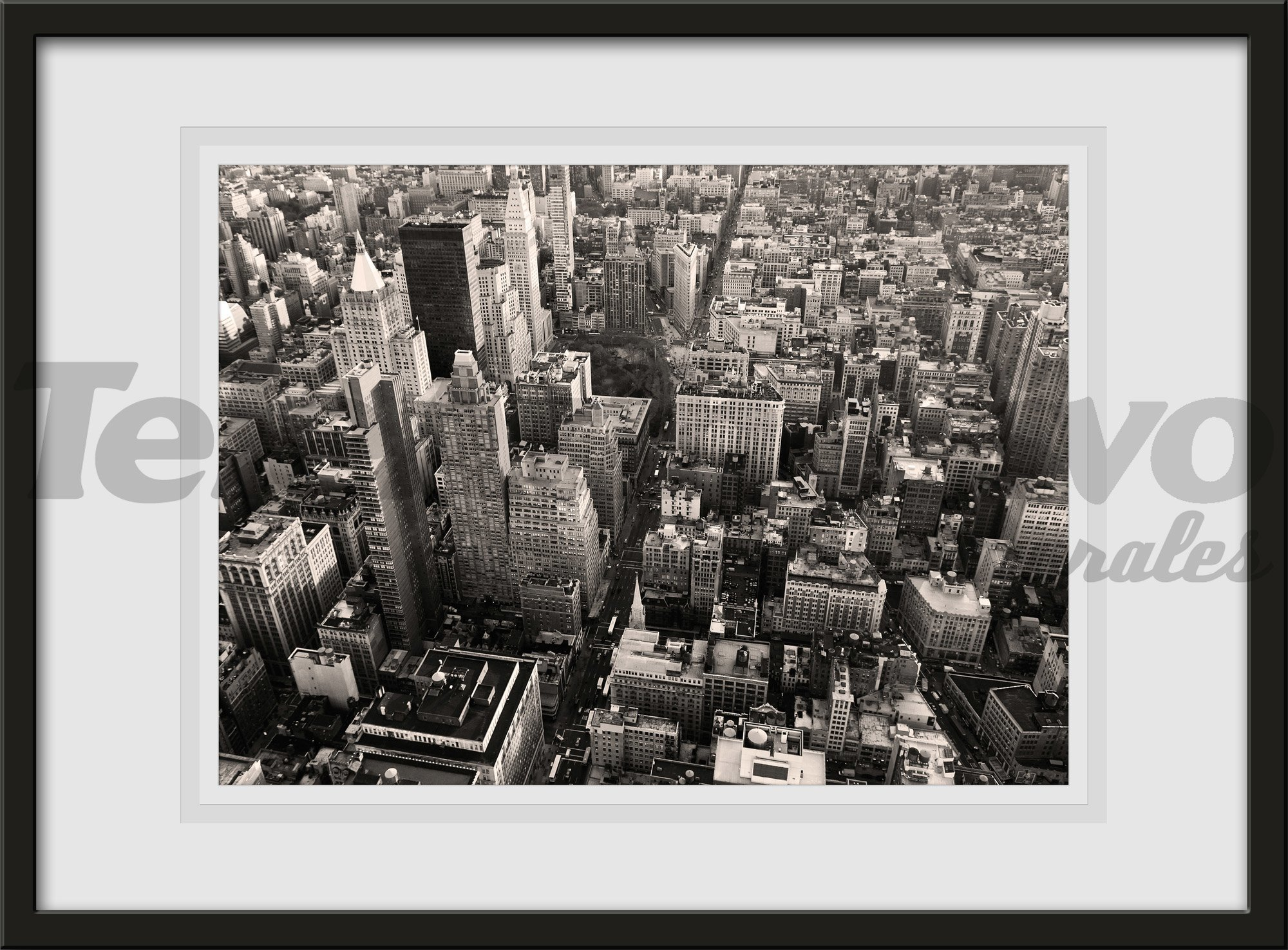 Wandtattoos: New York Skyscrapes