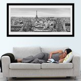 Wandtattoos: Skyline de París 2