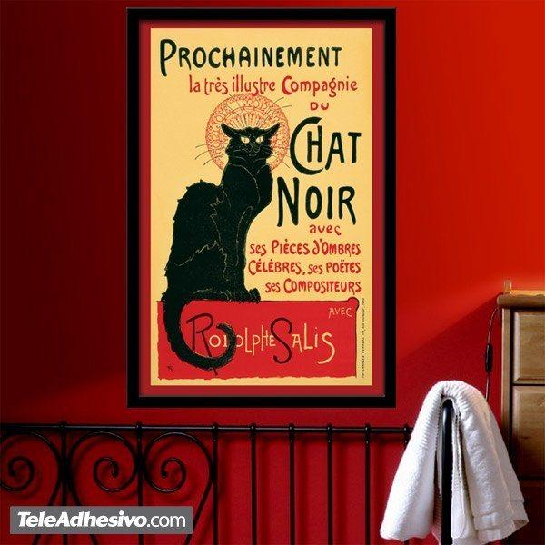 Wandtattoos: Chat Noir