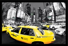 Wandtattoos: Taxi in Times Square 3