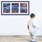 Wandtattoos: Triptychon Meeresboden 4