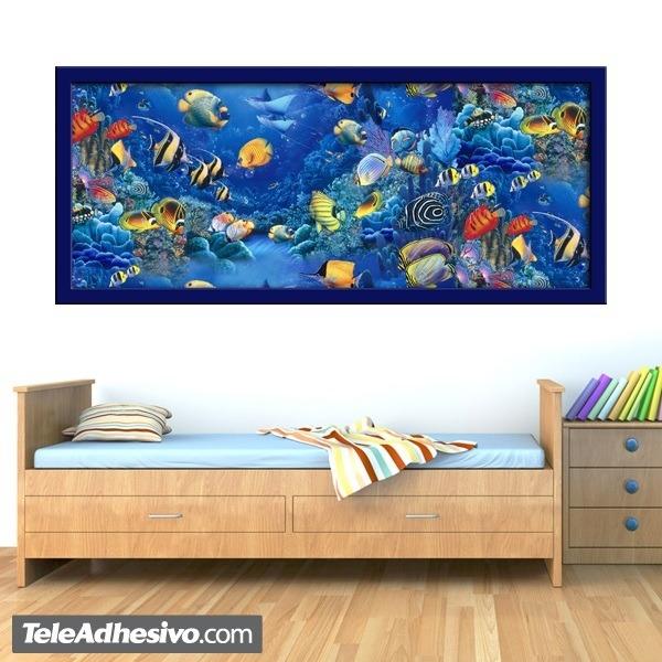 Wandtattoos: Meeresboden