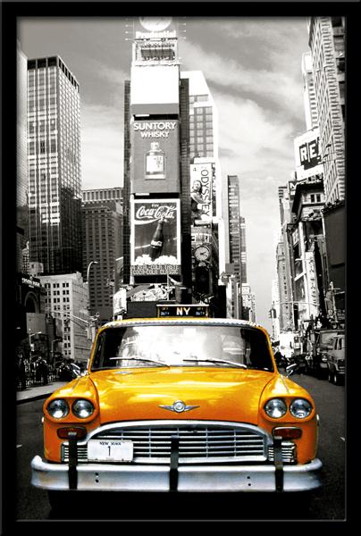 Wandtattoos: Taxi NYC