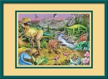 Kinderzimmer Wandtattoo: Der Tyrannosaurus rex 3