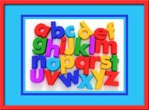 Kinderzimmer Wandtattoo: Alphabet I 1
