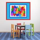 Kinderzimmer Wandtattoo: Alphabet I 2