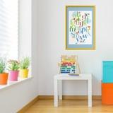 Kinderzimmer Wandtattoo: Alphabet 2 5