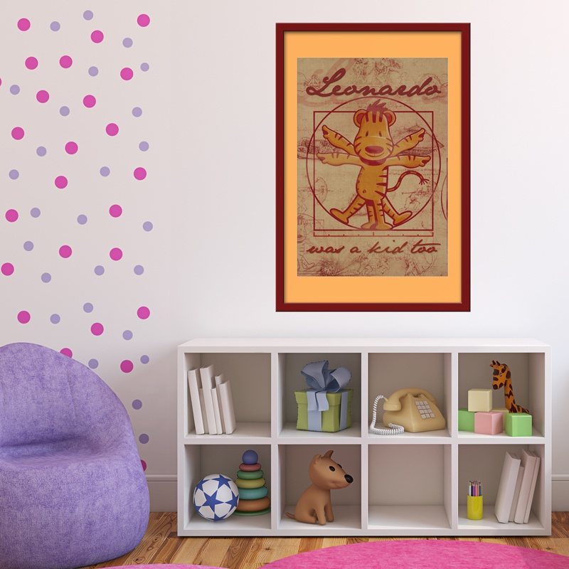 Kinderzimmer Wandtattoo: Da Vinci Kids