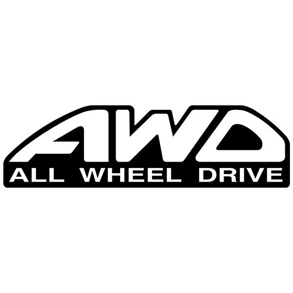 Aufkleber: All wheel drive