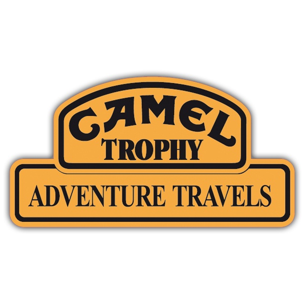 Aufkleber: Camel Adventure Travels