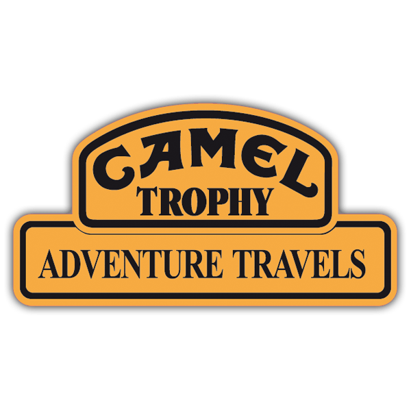 Aufkleber: Camel Adventure Travels 0