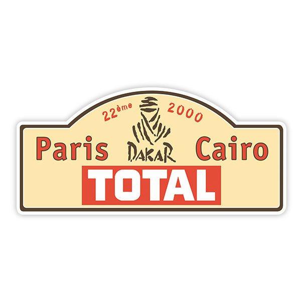 Aufkleber Dakar 2000 Webwandtattoocom
