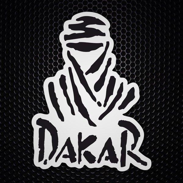 Aufkleber Logo Dakar Webwandtattoocom