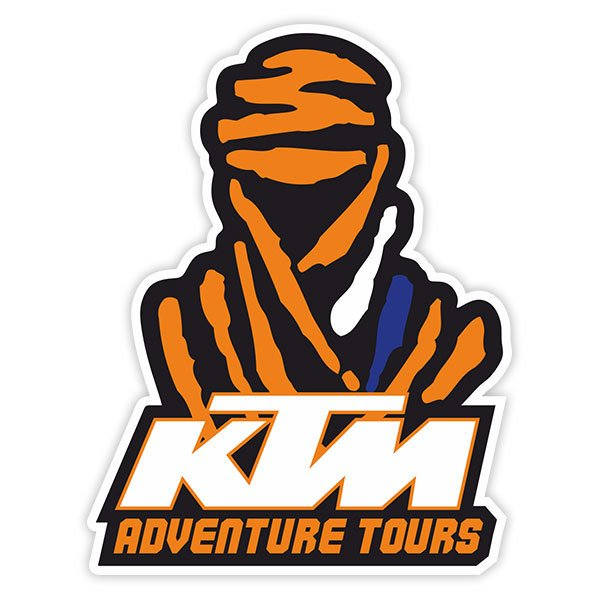 Aufkleber Dakar Ktm Adventure Tours Webwandtattoocom
