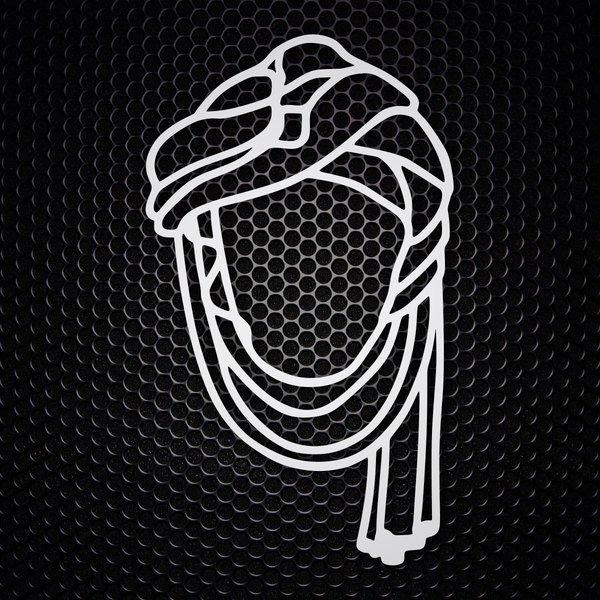 Aufkleber Dakar Tuareg Retro Logo Webwandtattoocom