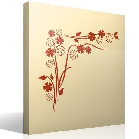 Wandtattoos: Floral 88