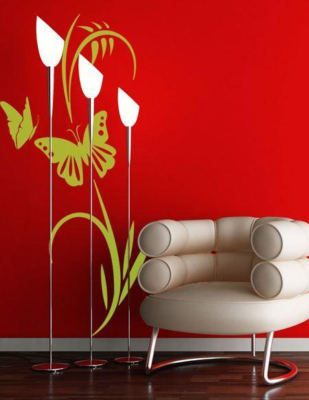 Wandtattoos: Floral 113