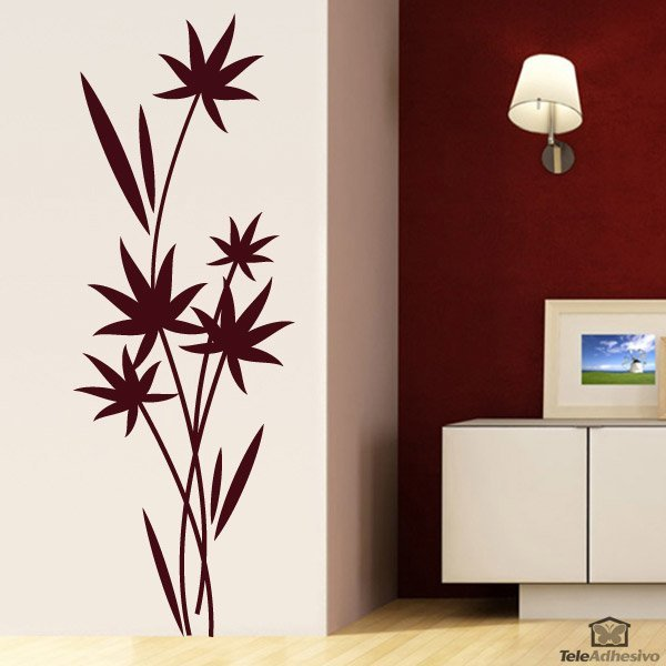 Wandtattoos: Floral 120